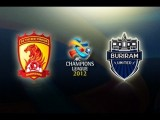 Guangzhou Evergrade Vs Buriram United: AFC Champions League 2012 Group Stage MD2