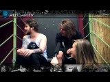 ASKING ALEXANDRIA - Interview With Ben Bruce & Danny Worsnop By Www.pitcam.tv