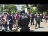 POLICE BRUTALITY SPANISH MODERN REVOLUTION - BARCELONA M15