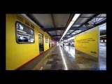 Vagón Amarillo Del Sistema De Transporte Colectivo - Metro, Línea 5