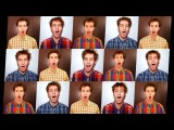 Auld Lang Syne - One Man Choir - New Years Song With Lyrics - A Cappella Multitrack By Trudbol