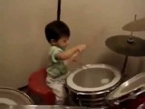 1 Year Old Asian Drummer Plays Like A Pro