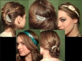 Spice Up Your Formal Hairstyle With Jewelry + New Updos!