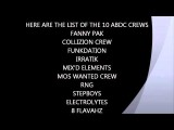 ABDC SEASON 7 OFFICIAL CREW LIST FANNY PAK & MOS WANTED CREW IN!!!