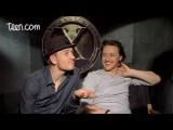 Michael Fassbender And James McAvoy X-Men Junket