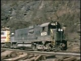 Conrail In The 1st Year On Horse Shoe Curve. The Days Of Alco-caboose-4 Track Main & K4