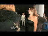 Ellen And Sofia Vergara Shoot A CoverGirl Commercial