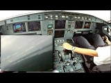 FIRST OFFICER IN ACTION! APPROACH SBEG