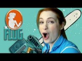 Felicia Day With A Chainsaw! Plus, Adorable Baby Animals! - The Flog, Ep 5