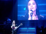 Demi Lovato Breaks Down Crying - Don't Forget - Live At The St. Pete Times Forum - 7 31 09