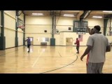 Kevin Durant & LeBron James Get In A Workout At The University Of Akron!