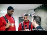 Cory Joseph & Tristan Thompson Interview & Practice Highlights - 2010 McDonald's All American Game