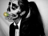 $1 Lady Gaga Born This Way Music Video Skeleton Makeup