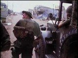 Vietnam War Tet Offensive: ARVN Vs. Viet Cong NLF Color Combat Footage, Saigon - Part 2 1968