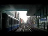 台北捷運 MRT 棕線前面展望前編・內湖線Taipei MRT Neihu Line Cab View