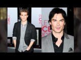 TVD's Nina Dobrev, Ian Somerhalder & Paul Wesley At The 2012 People's Choice Awards