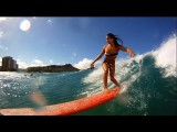 GoPro HD: Dreams With Kelia Moniz - Roxy Wahine Classic 2011