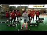 Very Funny Man Utd. Players Sing ''Best Around'' And Do Aerobics W 'Gavin And Stacey'