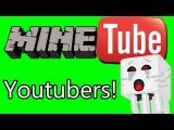 Minecraft Com Youtubers! Muito Amor, Explosões E Mais! Parte 1