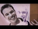 Matt Damon - Speed Drawing - Bic Pen Only!