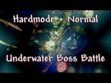 Terraria - Hardmode And Normal Bosses Underwater, On A Blood Moon Night With No Healing Potions
