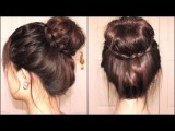 Braided Tips Sock Bun The Vow