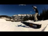 Skiing A Box At Copper Mountain Twixtor 1000fps
