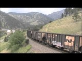 Union Pacific 1989 Pulls Heavy MNYRO On The Moffat Tunnel Subdivision