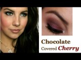Valentine's Makeup: Chocolate Covered Cherry