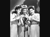 Chattanooga Choo Choo - The Andrews Sisters W Onscreen Lyrics