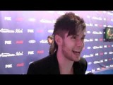 Colton Dixon - American Idol 2012 - Top 13 Interview