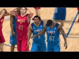 NBA 2K12 My Player Mode - NBA All-Star Game During 2012 All-Star Weekend Feat. Scoring SF