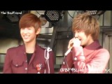 FanCam 111112 Boyfriend's Fansign Event At Busan - Scream For Me! Minwoo+Jeongmin+Kwangmin