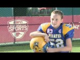 Athlete With Prosthetic Leg Helps Lead Team To Championship Game: 2011 Pop Warner Super Bowl