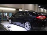 Novo Ford Fusion No Salão De Fortlauderdale. EUA