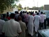 Jeddah مظاهرة جدة ضد الأسد وشكر لموقف المملكة 8-8-2011