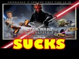 Star Wars: Episode I - The Phantom Menace 3D Funny Negative Movie Review