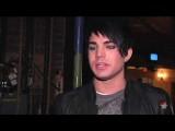 Adam Lambert Visits Hair
