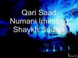 Imitation Of Shaykh Shuraim And Sudais By Qari Nomani PART 1