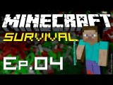 Minecraft Survival - Ep. 4 - Melhor Fortaleza Do Mundo!
