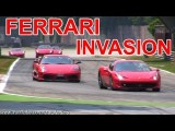 Best Of Ferrari Sounds - Track Invasion!