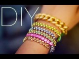 DIY Beaded Stackable Bracelets EASY