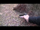 Glock 21 Suppressed First Person Walk & Shoot