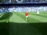 Cristiano Ronaldo Warming Up