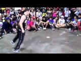 8 Year Old Kid Doing Awesome Breakdancing