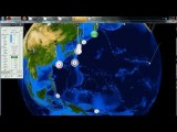 2 28 2012 -- Threat Of A LARGE Earthquake Looming In Asia -- Taiwan, Through Japan To Alaska