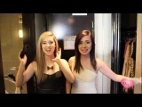 Megan And Liz Get Dressed For The Nickelodeon Kids Choice Awards!