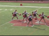 NCC Dance Team - Womanizer Britney Spears Dance Routine 2008 North Central Naperville Illinois Il