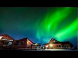 Aurora Timelapse Norway. Fire In The Sky - Polarlichter In Norwegen. Der Himmel Brennt