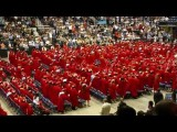 |HD| Sharyland High School Seniors 2011 Graduation Day 700 People Flash Mob